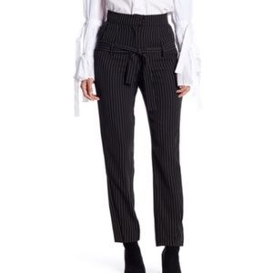 BNWT TOV Holy High Waisted Pinstripe Pants